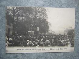 LIMOGES - FETE NATIONALE DE JEANNE D' ARC 1921 - LE DEFILE - Limoges
