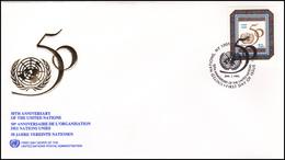 UNO New York - 50th Anniversary Of The UNO - New York -  VN Hauptquartier
