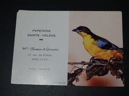 Mini Calendrier Calendar Bird  Pape De Leclancher Années 70 - Altri