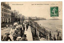 CPA   35     DE SAINT MALO A PARAME      1944    LE SILLON       LIGNE DE TRAMWAY - Saint Malo