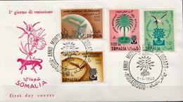Somalia Set On FDC - Somalia (1960-...)