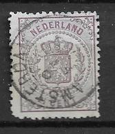 1869 USED Nederland NVPH 18 - Periode 1852-1890 (Willem III)