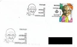 SPAIN. FDC. MAHATMA GANDHI. 2019 - FDC