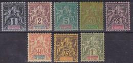 Inde - Yvert N° 1,2,4,7,8,10,12 Et 13 * - B/TB - Cote 52 € - Inde (1892-1954)