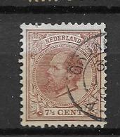 1872 USED Nederland NVPH 20 - Periode 1852-1890 (Willem III)