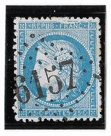 TIMBRE 60/1   ; GRANDE CASSURE ; 145 A2 (6ème état) GC 6157 ; BRUAY Pde-C; TTB - 1871-1875 Cérès