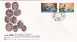 UNO New York - 50 Anniversary Unicef - New York -  VN Hauptquartier