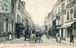 51  EPERNAY  RUE DE CHALONS ANIMEE - Epernay