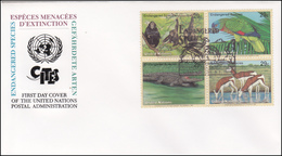 UNO New York - CITES, Animals, Birds, Mammals, Reptiles - New York -  VN Hauptquartier