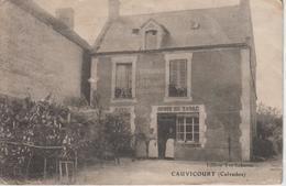 """CPA Cauvicourt - Débit De Tabac - Restaurant """"A L'Espérance"""" - France"""