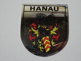 Blason écusson Adhésif Autocollant  Hanau (Allemagne) Adhesivo Escudo Adesivi Stemma Aufkleber Wappen - Recordatorios