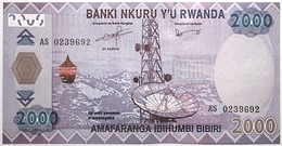 Rwanda - 2000 Francs - 2014 - PICK 40a - NEUF - Rwanda