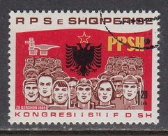 Albania 1989 - Congress Of The Democratic Front, Mi-Nr. 2402, Used - Albania