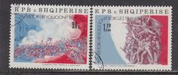 Albania 1989 - Bicentenaire De La Revolution Francaise, Mi-Nr. 2403/04, Used - Albania