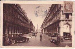 L120C_485 -Paris - 22 Rue Castiglione Et La Colonne Vendôme - Frankreich