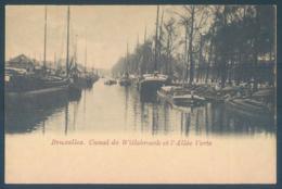 BRUXELLES Canal De Willebroeck Et Allée Verte - Belgien