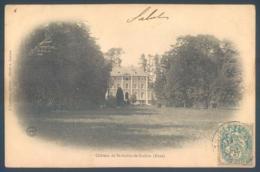 27 Chateau De SAINT AUBIN De SCELLON - France