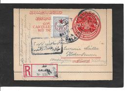 1917  Entier Postal Avec T-p  Complémentaire Carte Lettre Réponse - Covers & Documents