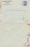 Kroatien - Zensurbrief Zagreb - St. Pölten 1941 Zensurverscjluss ABP Wien - Croazia