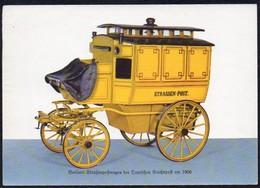 Post -  AK  BRD: Berliner Straßenpostwagen Der Deutschen Reichspost Um 1900 - Post