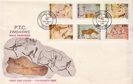 Zimbabwe Set On FDC - Zimbabwe (1980-...)