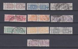 ITALY 1914 Pacchi, Stemma E Cifra, Nodo Al Centro Mint/Used  (Sa.7/19) - Paketmarken
