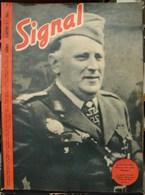 MilDoc. 46.  Revue De Propagande Allemande SIGNAL N°3 - 1944 - 1939-45