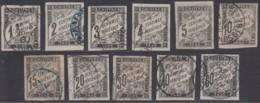 Colonies Générales - Timbre-taxe N° 01 à 11 (YT) N° 1 à 11 (AM) Oblitérés. - Postage Due