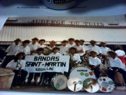 PHOTO FANFARE BANDA SAINT MARTIN SOUILLAC 46 LOT - Reproductions