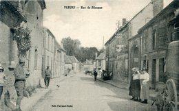 51  PLEURS RUE DE SEZANNE ANIMEE - France