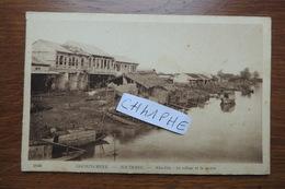 SOCTRANG - SOC TRANG - NHU GIA - LE VILLAGE ET LA RIVIERE - VIET NAM - COCHINCHINE - Vietnam