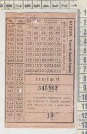 Biglietto Tramvie Castelli Romani S T E F E R   Albano / Ariccia - Europe