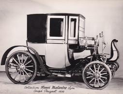 Collection Henri Malartre, Lyon, Coupé Peugeot 1898 - Voitures De Tourisme