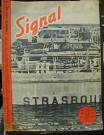 MilDoc. 47.  Revue De Propagande Allemande SIGNAL N°1 - De Février 1943. Dans Le Port De Toulon - 1939-45
