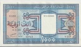 MAURITANIA P.  9b 1000 O 2001 AUNC - Mauritania