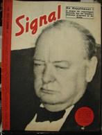 MilDoc. 48.  Revue De Propagande Allemande SIGNAL N°2 - D'avril 1943. Churchill Déclaré... - 1939-45