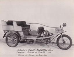 Collection Henri Malartre, Lyon, Tonneau Lacroix De Laville 1898 - Voitures De Tourisme