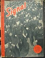MilDoc. 49.  Revue De Propagande Allemande SIGNAL N°1 - De Mai 1943. Futurs Officiers De Chars - 1939-45