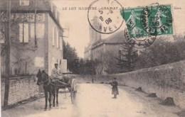 46 - GRAMAT - Le Couvent Vu De L'Avenue De La Gare. - Gramat