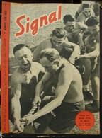 MilDoc. 51.  Revue De Propagande Allemande SIGNAL N°1 - De Juin 1943. Dans Une Haute école De Chars - 1939-45