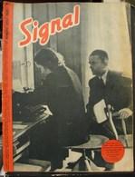 MilDoc. 53.  Revue De Propagande Allemande SIGNAL N°1 - De Aout 1943. Entre Deux Vols Albert Speer...... - 1939-45