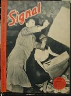 MilDoc. 54.  Revue De Propagande Allemande SIGNAL N°1 - De Septembre  1943. Après Une Nuit Tragique.. - 1939-45