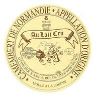 ETIQUETTE De FROMAGE..CAMEMBERT De NORMANDIE..Affiné Par S.A.F.F - Cheese