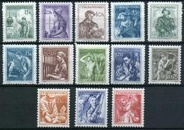 1954 Czechoslovakia MNH - Mi 848-852 + 859-863 + 873-875 ** MNH - Tschechoslowakei/CSSR