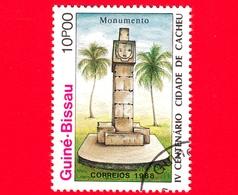 Nuovo - GUINEA BISSAU - 1989 (1988) - 400 Anniversario Della Città Di Cacheu - Monumento - 10 - Guinea-Bissau