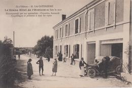 CPA île D'Oléron - La Cotinière - Le Grand Hôtel De L'Horizon En Face La Mer (jolie Animation Avec Automobile) - Ile D'Oléron
