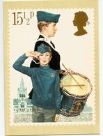 Scoutism. The Boy's Brigade. Postcard UK - Padvinderij