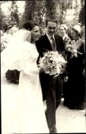 Photo Cp Hochzeit Maria Alberta Von Österreich, Freiherr Von Kottwitz Erdödy 1969, Schloss Persenbeug - Familles Royales