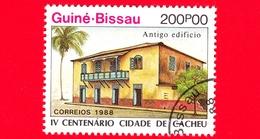 Nuovo - GUINEA BISSAU - 1989 (1988) - 400 Anniversario Della Città Di Cacheu - Antico Edificio - 200 - Guinea-Bissau