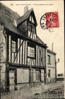 Cp Les Ponts De Cé Maine Et Loire, Vieille Maison Xvie Siecle - France